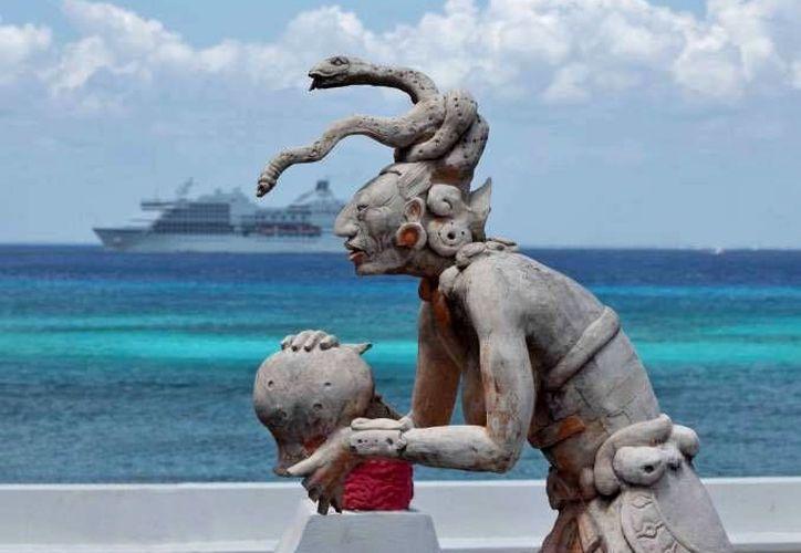 La conferencia hablará sobre el nuevo hallazgo arqueológico llevado a cabo en Cozumel. (Archivo/SIPSE)