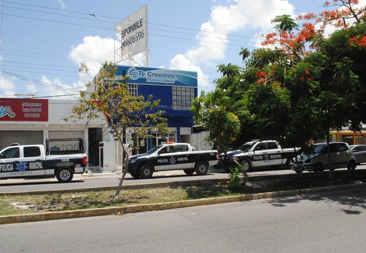 La empresa se ubica en la avenida Miguel Hidalgo. (Eric Galindo/SIPSE)