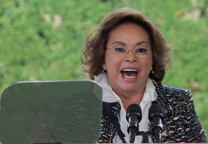 Elba Esther Gordillo fue detenida por el presunto desvió de dos mil millones de pesos. (Archivo/Agencias)