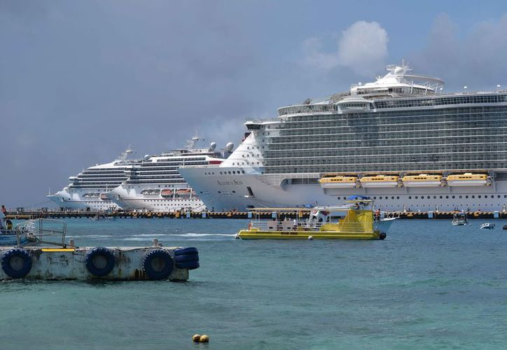 El mal clima podría afectar la actividad turística de la isla. (Gustavo Villegas/SIPSE)