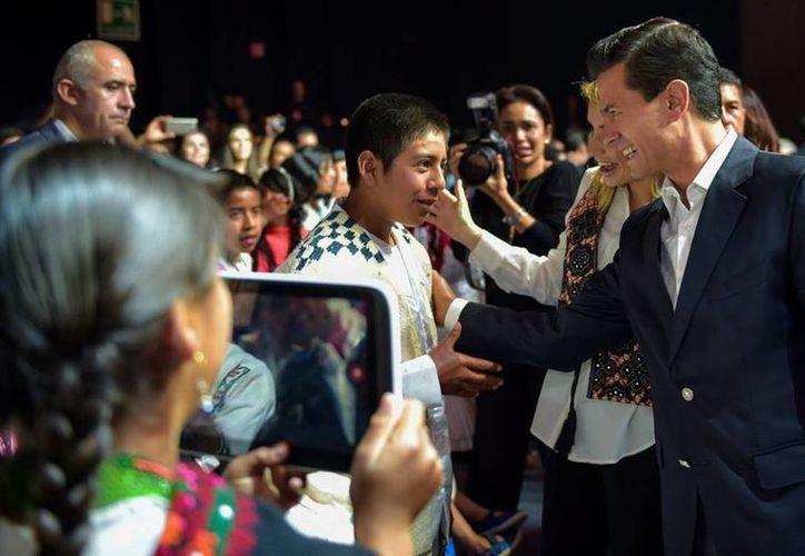 Peña Nieto visitó la capital de Jalisco para inaugurar el Tianguis Turístico 2016. (Presidencia)