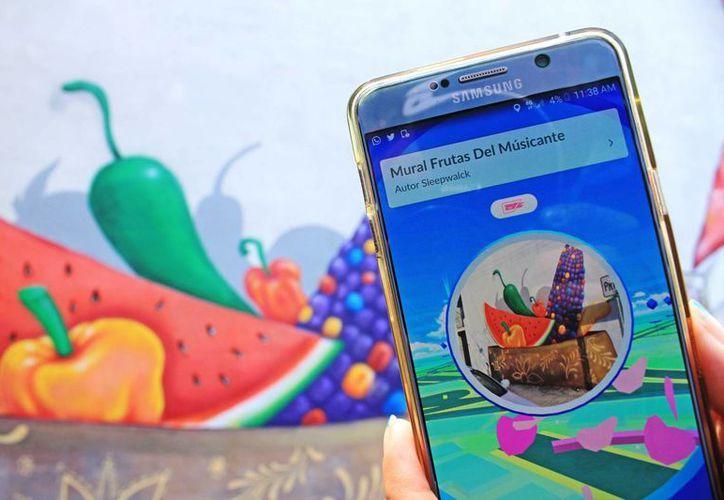 Las Poképaradas de Pokémon Go en Cancún se ubican principalmente en sitios emblemáticos de la ciudad. (Jesús Tijerina/SIPSE)