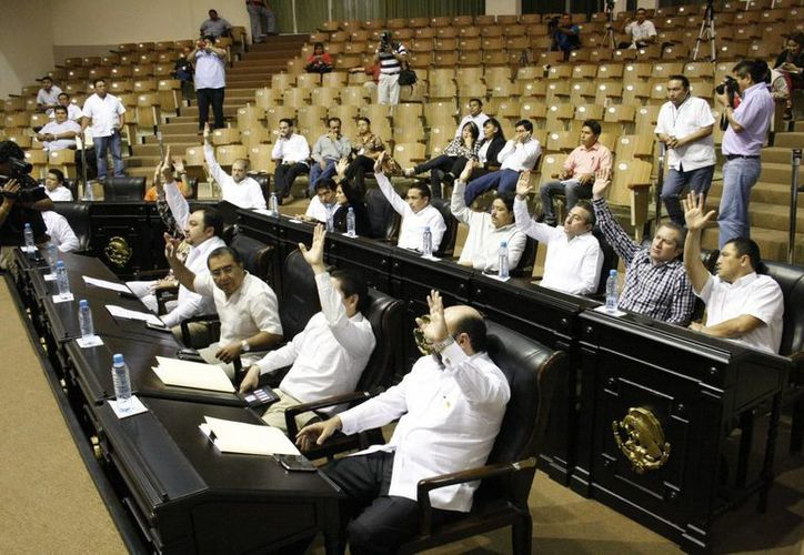 Diputados de la LX Legislatura de Yucatán, la cual está vigente desde el 1 de septiembre pasado. (Milenio Novedades)