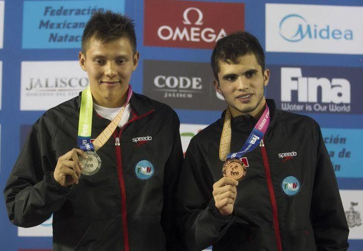 El entrenamiento constante es la base de los resultados de la dupla Iván García y Germán Sánchez. (Archivo Notimex)