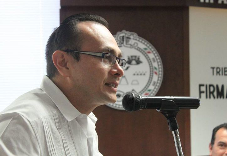 Solidaridad será el primer municipio en contar con juicios orales en las cuatro materias, destacó el presidente del Tribunal Superior de Justicia del estado (TSJ), Fidel Gabriel Villanueva Rivero.  (Carlos Calzado/SIPSE)