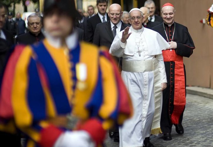 El Presidente mexicano es uno de los dignatarios que participarán en la misa de inauguración del papado de Francisco. (Agencias)