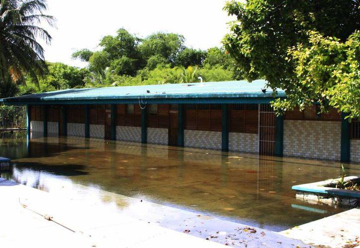 Diferentes puntos de Chetumal aún siguen inundados luego de las intensas lluvias registradas semanas atrás. (Redacción/SIPSE)