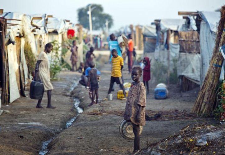 Más de 75 mil niños y niñas refugiados en Uganda, Kenia, Etiopía, Sudán y República Democrática del Congo, han cruzado las fronteras de Sudán del Sur solos. (ONU).