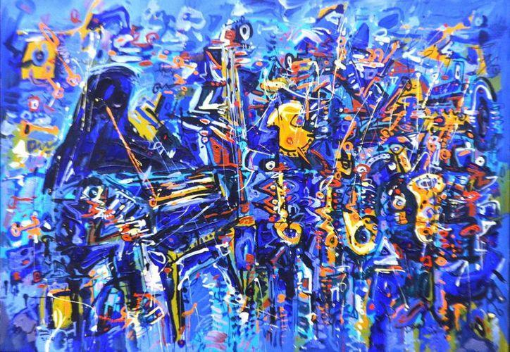 "Obra titulada ""Orquesta de ruidos en libertad"". (Cortesía)"