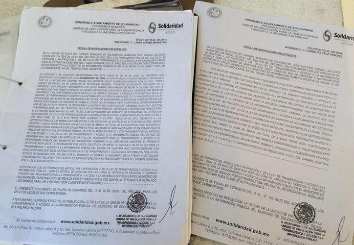 No existe copia en el portal del Ayuntamiento. (Adrián Barreto/ SIPSE)