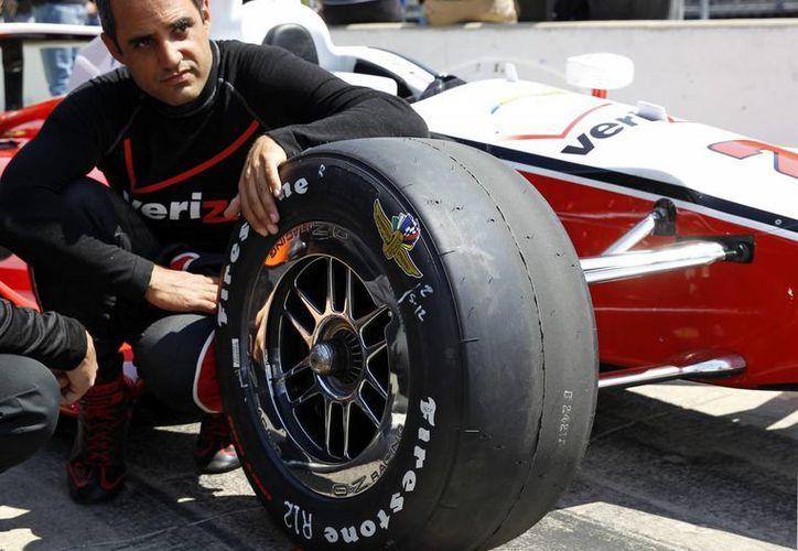 Juan Pablo regresó a la Indy tras su paso por la F1 y la Nascar. (Foto: AP)