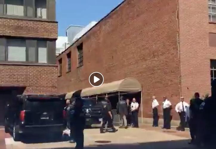 El hecho de que el Departamento de Estado haya arrestado a los activistas en el interior del recinto es algo que tendrá repercusiones en todo el mundo. (Foto: Captura de pantalla/ @codepink)