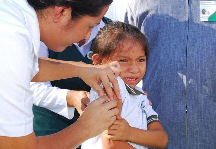 La campaña de vacunación nacional termina hoy. (Adrián Barreto/SIPSE)