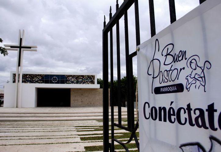 La misa se celebrará en la iglesia del Buen Pastor en la colonia Los Pinos. (Juan Albornoz/SIPSE)