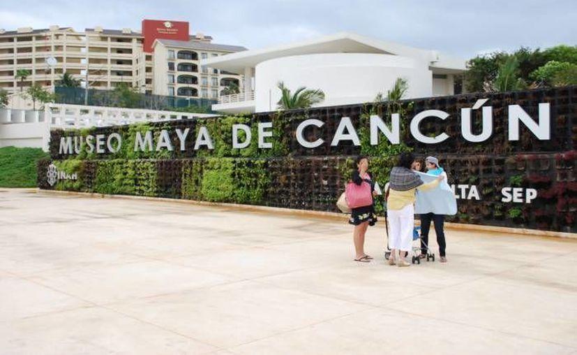 Instalaciones del Museo Maya de Cancún. (Redacción/SIPSE)