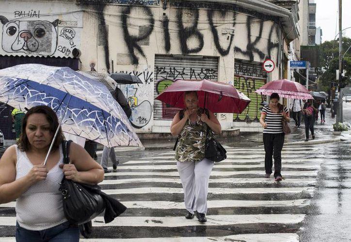 Un temporal de lluvia deja al menos 15 muertos y varios heridos en Sao Paulo, Brasil. (EFE/archivo)