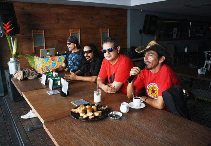 La agrupación de reggae Bosquimano se presentará este sábado completamente gratis. (Octavio Martínez/SIPSE)