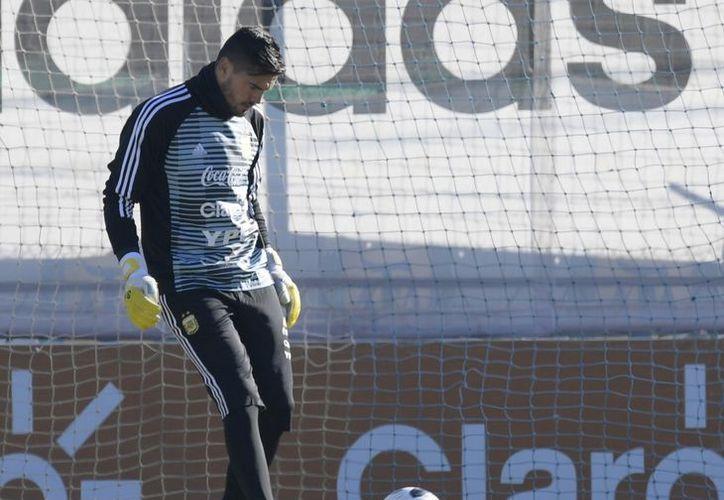 Sergio Romero jugó dos mundiales con la selección argentina. (El Clarín)