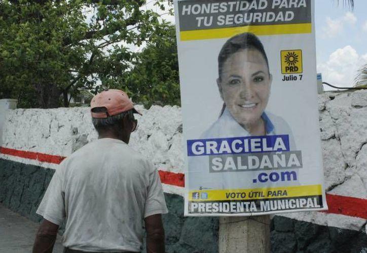 Manifestaron que los partidos no pueden hacer campaña conjunta porque no existe una coalición de facto. (Tomás Álvarez/SIPSE)