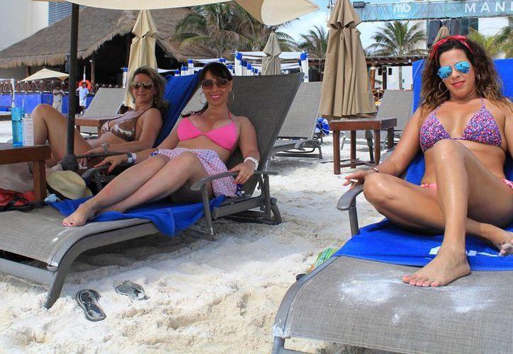Los meses de mayor afluencia de turista nacional son julio y agosto. (Luis Soto/SIPSE)