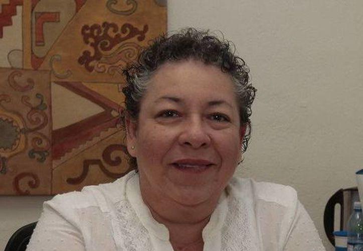 Juana Guadalupe Santín Velázquez, directora de la Casa de la Cultura de Cancún. (Redacción/SIPSE)