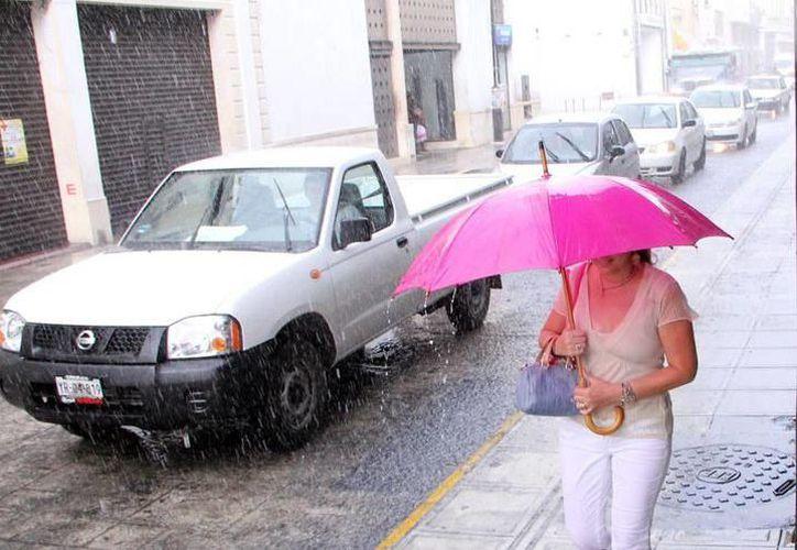 De acuerdo con pronósticos para hoy, se tiene probabilidad de lluvias fuertes en la mayor parte del estado. (SIPSE)