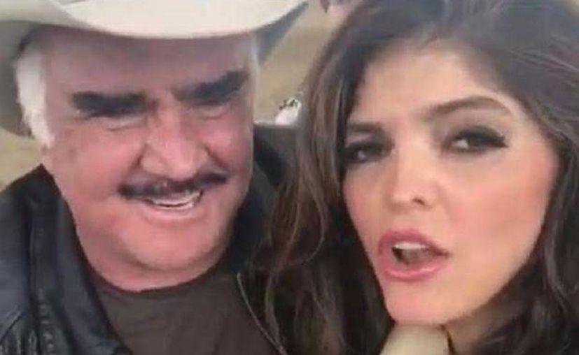 """A través de un video en Instagram, Vicente Fernández y Ana Bárbara se echan un """"palomazo"""". (Foto: Internet)"""