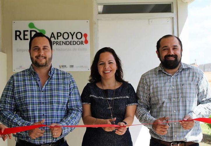 Inauguran centro de Red de Apoyo al Emprendedor en el Instituto Tecnológico de Mérida. (Facebook/ IyemYucatán)