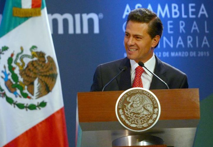 Enrique Peña mencionó que apenas ayer se publicó el fallo sobre dos nuevas cadenas de televisión. (presidencia.gob.mx)