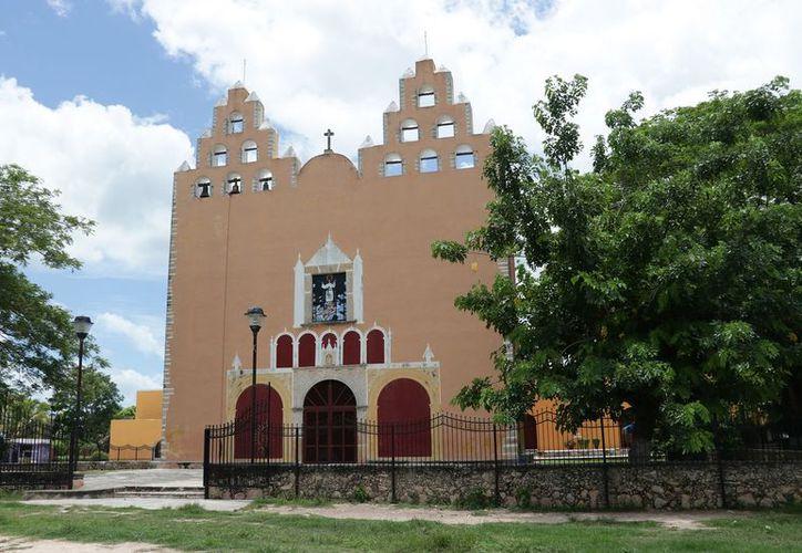El ex convento, edificado en el siglo XVII y dedicado a Nuestra Señora de la Asunción (Foto: José Acosta)