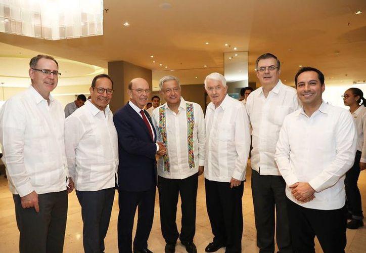 El US-México CEO Dialogue finalizó con diversos acuerdos y compromisos. (Foto: redes sociales)