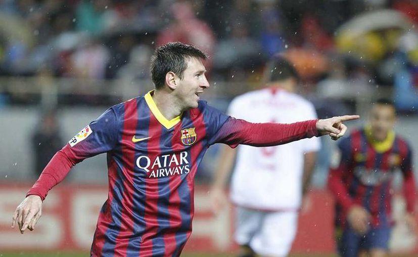 Con 371 goles, Lionel Messi superó a Paulino Alcántara (1927) como máximo goleador de la historia del  Barsa. (Facebook/Leo Messi)
