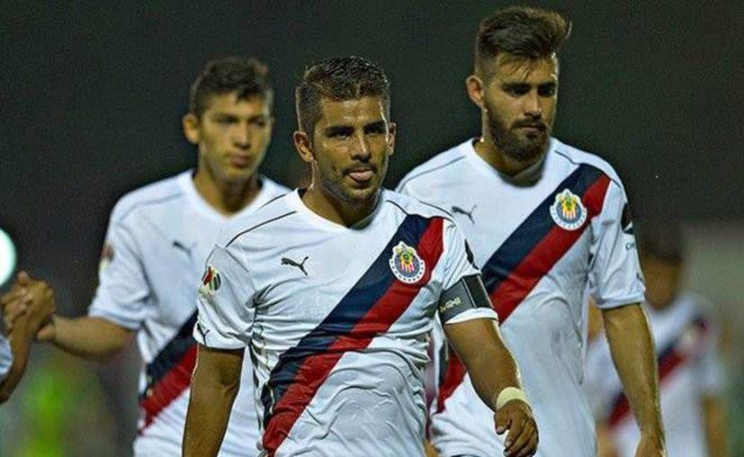 Chivas sumó su tercer partido consecutivo sin anotar gol, tanto en Liga como en Copa.(Foto tomada de Facebook/Copa Corona MX)