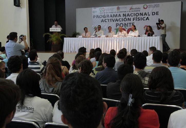 La Universidad Tec Milenio es sede en el municipio del programa nacional. (Tomás Álvarez/SIPSE)