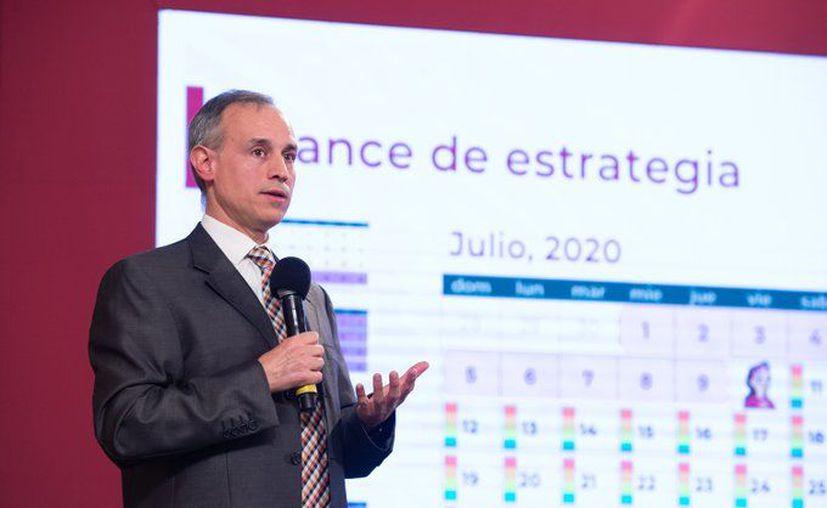 Hugo López-Gatell, vocero de la epidemia del SarS-CoV-2 que ocasiona la enfermedad del COVID-19. (Foto: Twitter).