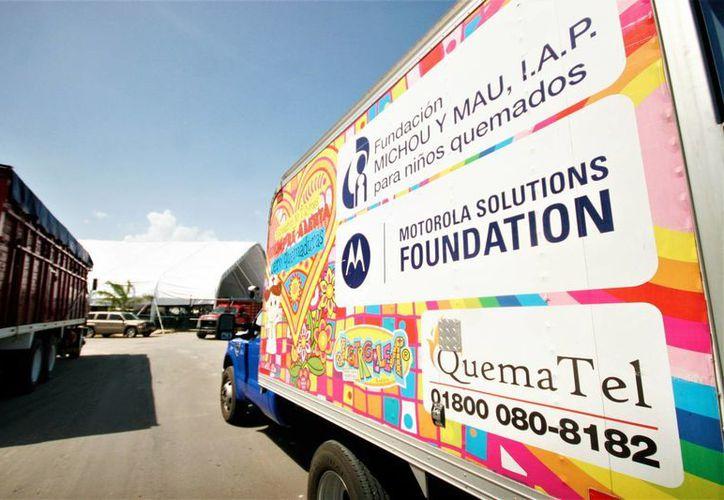 La Fundación Michou y Mau, ha atendido a 56 menores con quemaduras que han sido traslados a Estados Unidos. (Eddy Bonilla/ SIPSE)