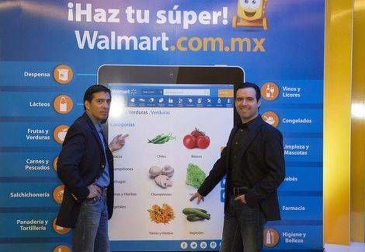 Walmart ha destinado unos mil 900 mdp para consolidar su oferta en línea. (Milenio)
