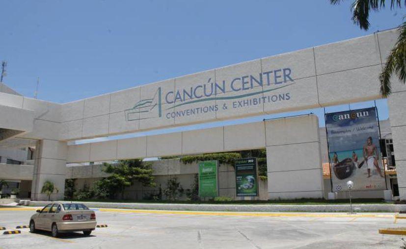 La IV Expo Tecno Agua, Cancún 2015 que se realizará en el Centro de Convenciones de Cancún. (Jesús Tijerina/SIPSE)