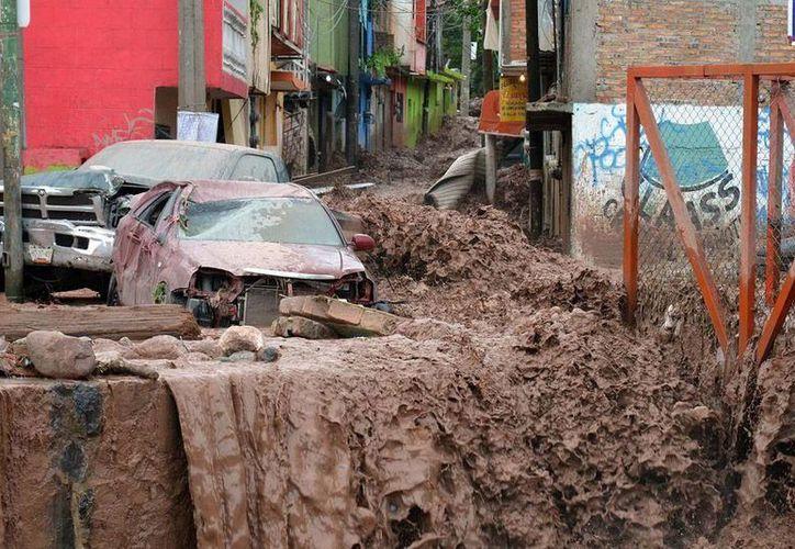 Guerrero, en estado de emergencia por los daños ocasionados por la tormenta 'Manuel'. (NTX)