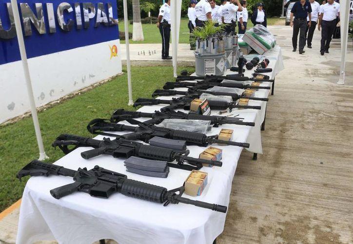 El recurso se destinará para equipar a policías, profesionalización de los mismos y hay algunos programas de seguridad pública. (Claudia Martín/SIPSE)