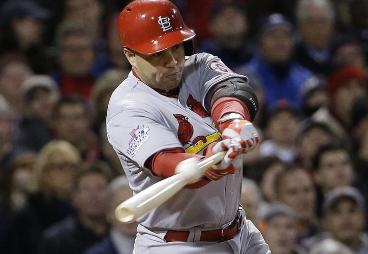 Beltrán disputó el año pasado su primera Serie Mundial ante los Medias Rojas de Boston. (Foto: Agencias)