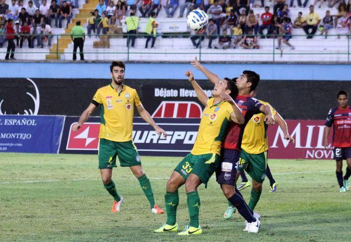 Los azulgranas viajarán a Mérida para el juego de ida de la llave 3 del grupo 6 del torneo de Copa MX del Apertura 2014. (Redacción/SIPSE)
