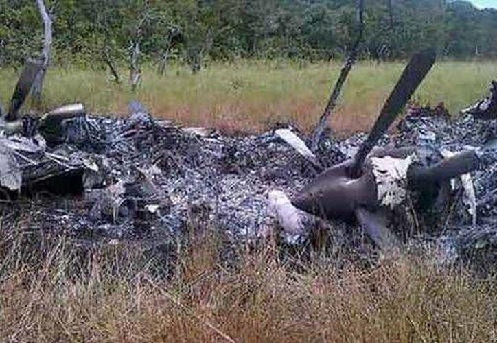 La imagen subida a internet por el militar. (Internet/Twitter de Vladimir Padrino López)