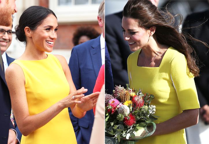 Las duquesas están a la vista de todos, en especial, por sus sentidos de la moda. (Internet)