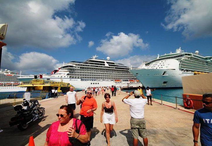 Los prestadores de servicios turísticos de la isla comienzan uno de los períodos más bajos en el año. (Irving Canul/SIPSE)