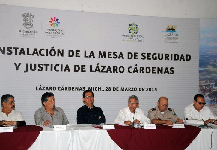 En la Mesa de Seguridad y Justicia en el municipio de Lázaro Cárdenas se reconoció un importante aumento en delitos comunes en Michoacán. (Archivo/Notimex)