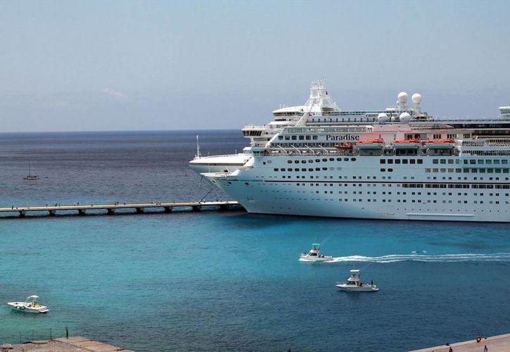 Los cruceros empezaran a llegar a partir del lunes 24 de marzo. (Redacción/SIPSE)