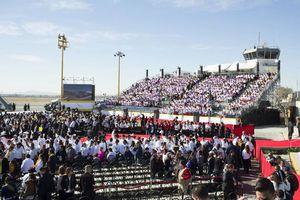 El Papa Francisco se despide de México en Ciudad Juárez