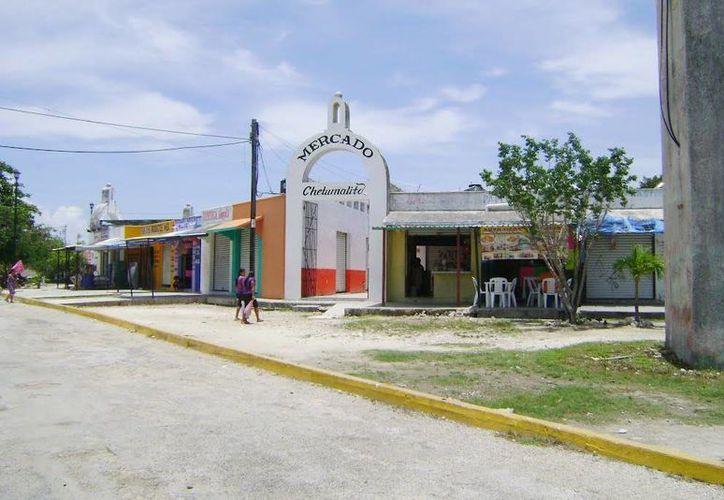 """El mercado en el que fue abandonado se llama """"El Chetumalito"""", que se ubica en la Supermanzana 67. (Redacción/SIPSE)"""