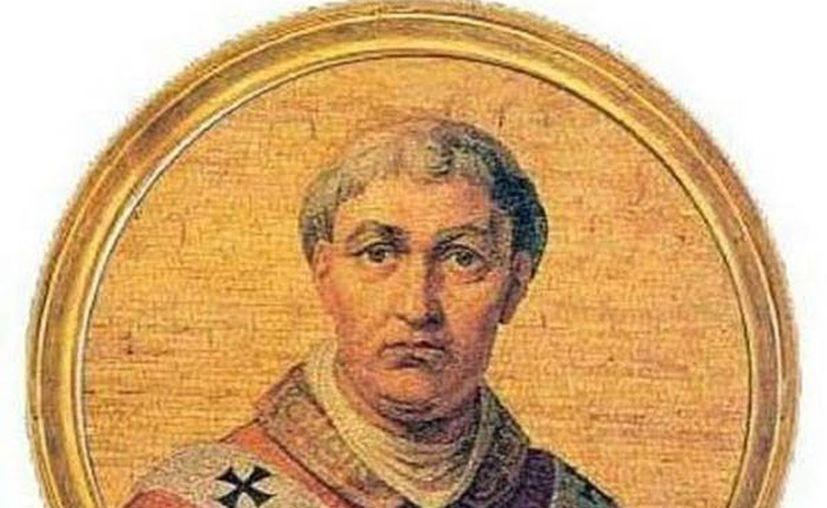 """El Papa Urbano VI, uno de los dos papas de la """"discordia"""". (rubinero.blogspot.com)"""